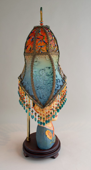 Nightshades Victorian Lampshade On Esther Hunt Style