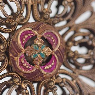 Byzantine Jewel Victorian Lampshade