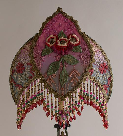 Nightshades Folk Gypsy Bohemian Talisman Table Lamp