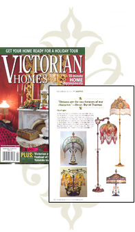 Featured in the Feb 2009 issue of Victorian Homes Magazine