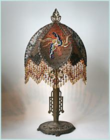 Custom Victorian Lampshade