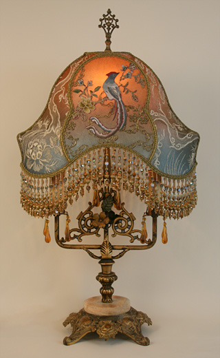 Victorian Floor Lamp Base