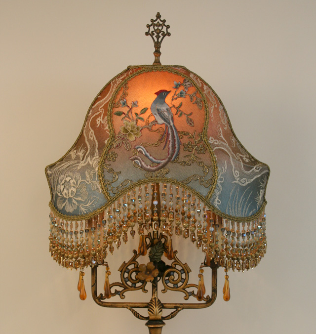 Nightshades Chinoiserie Victorian Lampshade