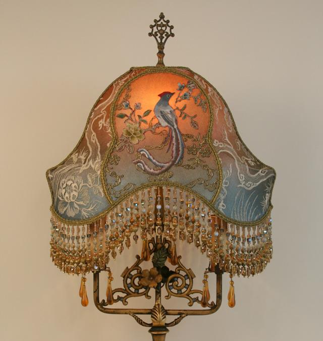 Nightshades Chinoiserie Victorian Lampshade