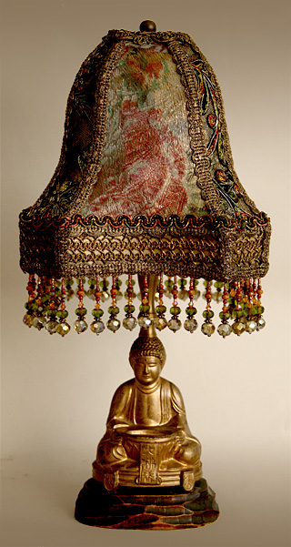 1920s Buddha Incense lamp