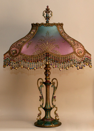 Nightshades Turkish Starling Victorian Lampshade With