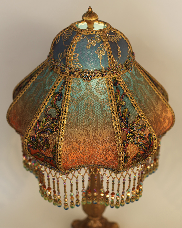 Nightshades Bohemian Style Antique Beaded Lampshade