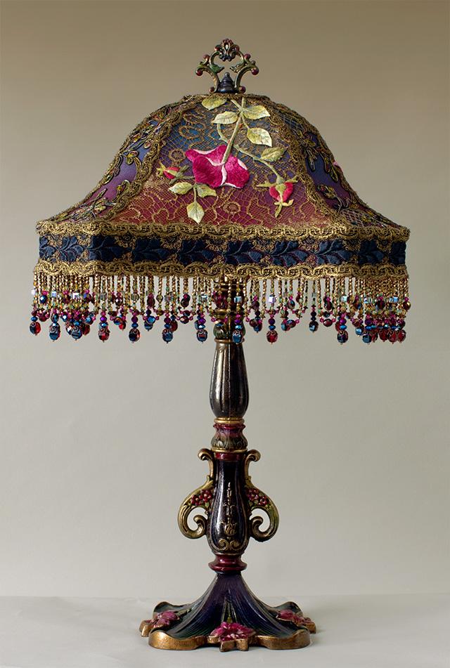 Nightshades Victorian Lampshade