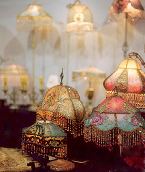 Beaded Lamp Shades Adorable Nightshades